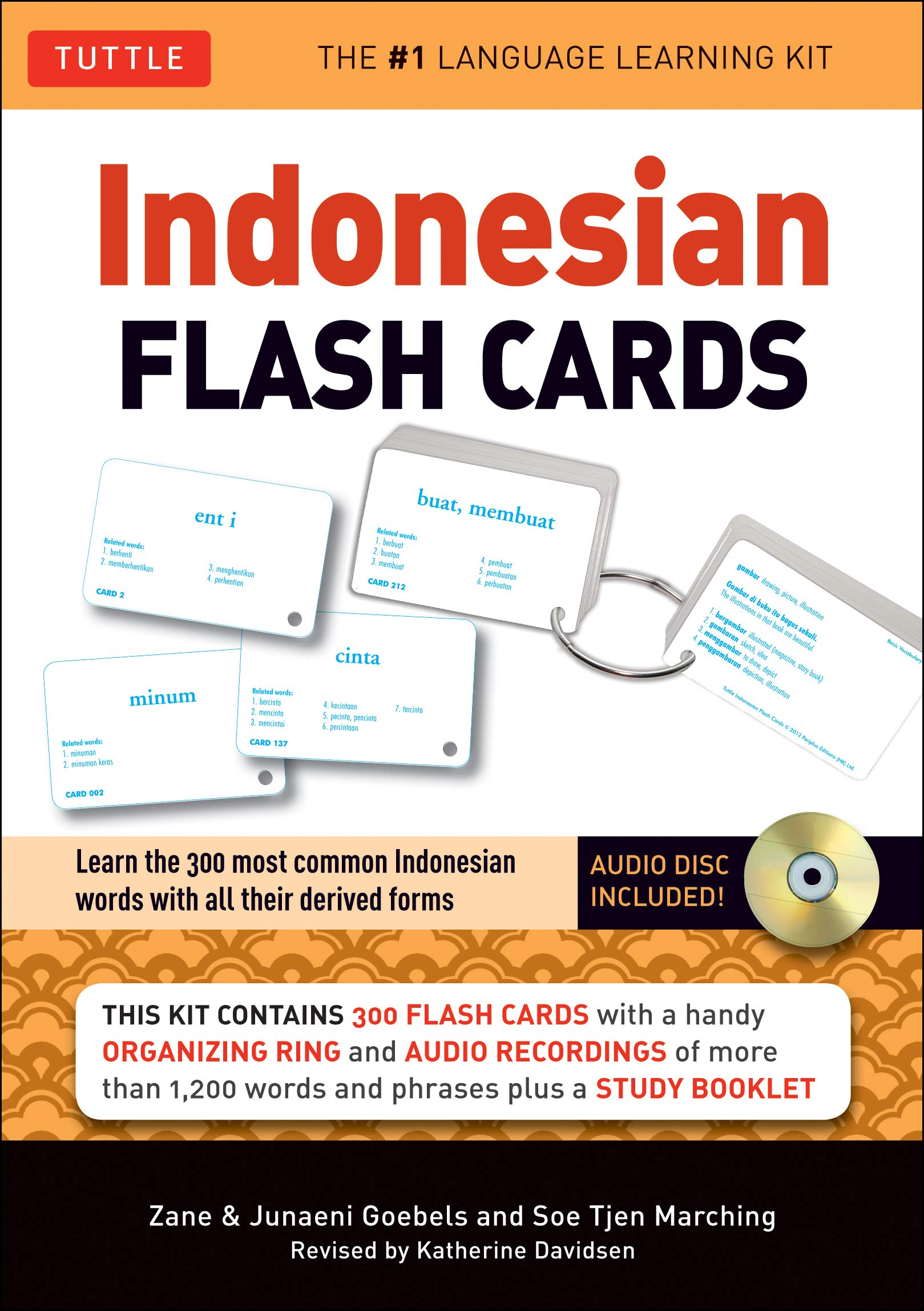 Indonesian Flash Cards (Tuttle Flash Cards)