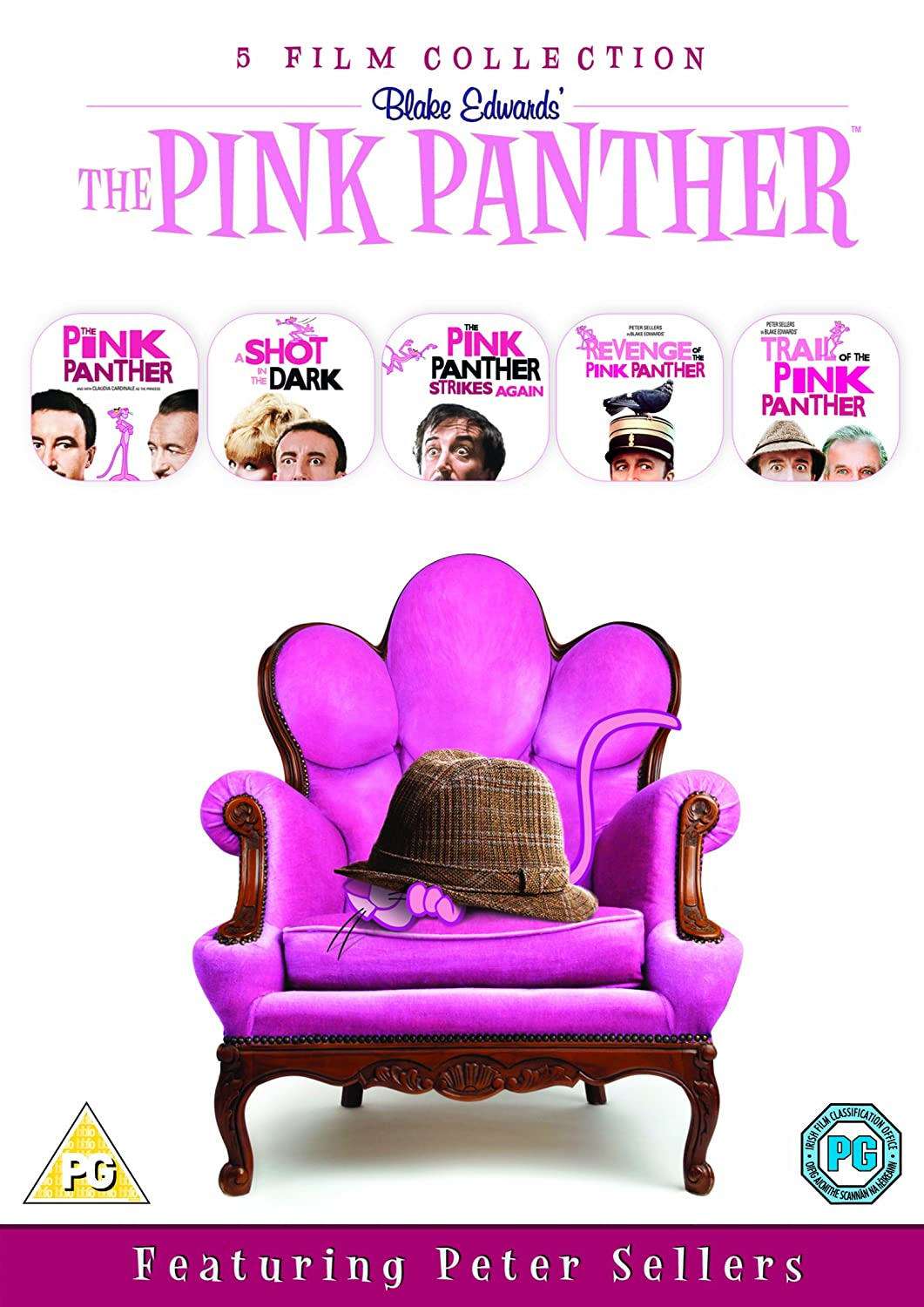 The Return of the Pink Panther [Reino Unido] [DVD]: Amazon ...