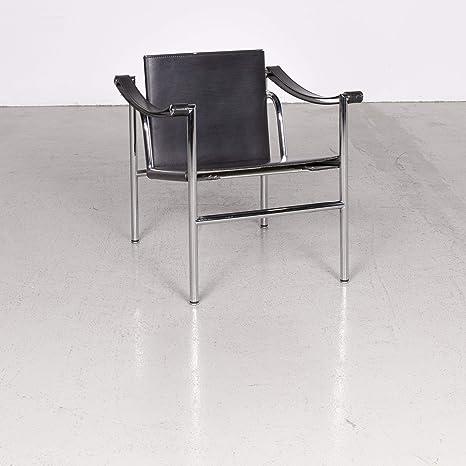 Cassina Le Corbusier LC 1 Designer Sessel Leder Schwarz by ...