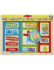 Melissa & Doug - Mi Primer Calendario magnético, en inglés (19253)