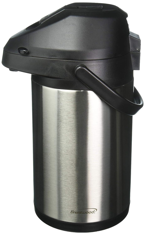 Brentwood CTSA-3500 3.5-Liter Airpot Hot & Cold Drink Dispenser, Stainless Steel