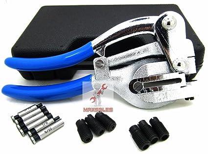 Kaleidoscope Power Hole Punch Kit Sheet Metal Hand Tool Set