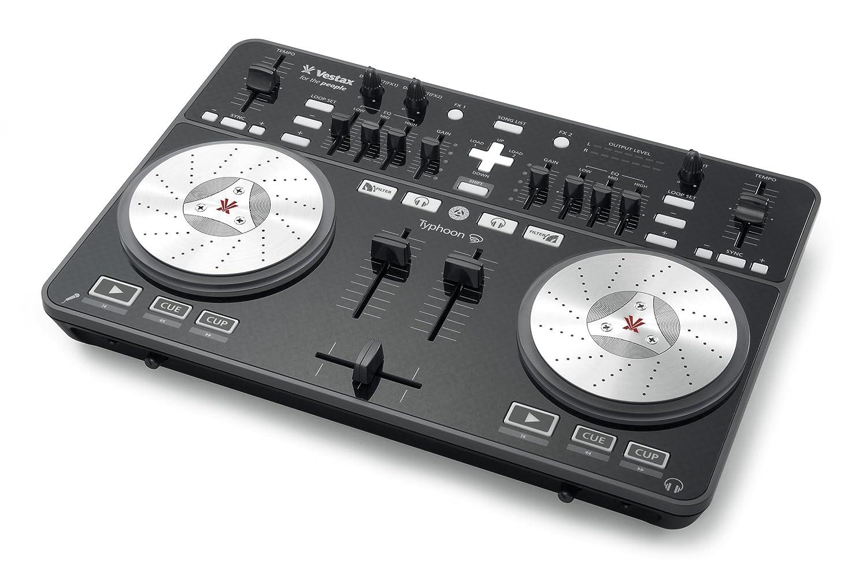 Vestax DJコントローラー Typhoon タイフーン BLACK ブラック 黒 VirtualDJ/Serato DJ Intro対応 Windows/Macintosh対応 B0072OIPMC