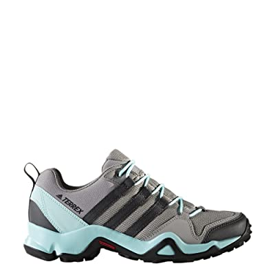 adidas outdoor Women's Terrex AX2R Charcoal Solid Grey/Dgh Solid Grey/Clear Aqua Athletic Shoe