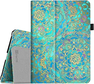Fintie Case for iPad 9.7 2018/2017, iPad Air 2, iPad Air - [Corner Protection] Premium Vegan Leather Folio Stand Cover, Auto Wake/Sleep for iPad 6th / 5th Gen, iPad Air 1/2, Shades of Blue