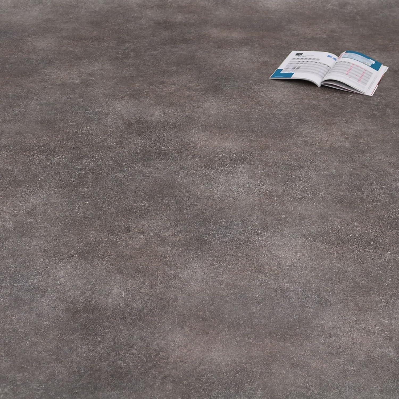 12,95 /€ p.m/² PVC Bodenbelag Beton Grau Objekt 32 Breite: 200 cm x L/änge: 250 cm