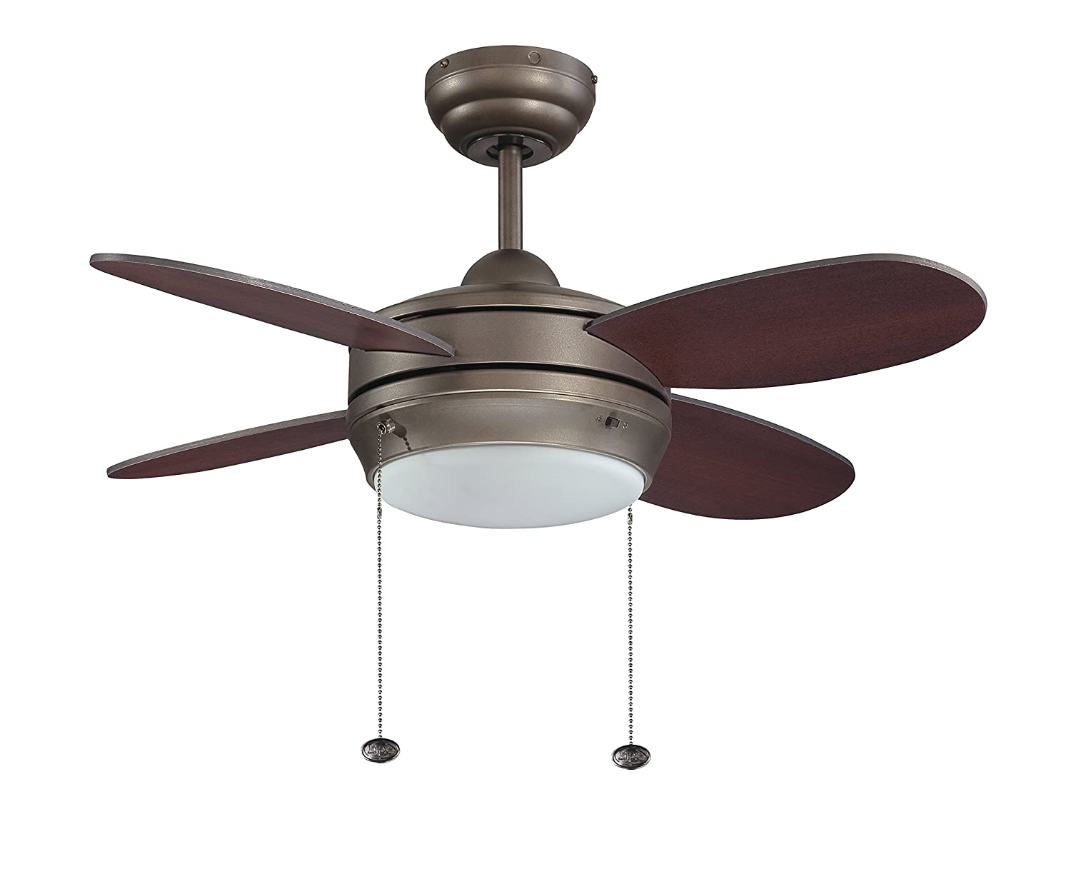 Litex e mlv36esp4lk1 maksim collection 36 inch ceiling fan with four litex e mlv36esp4lk1 maksim collection 36 inch ceiling fan with four dark walnut blades and single light kit with opal frosted glass amazon aloadofball Image collections