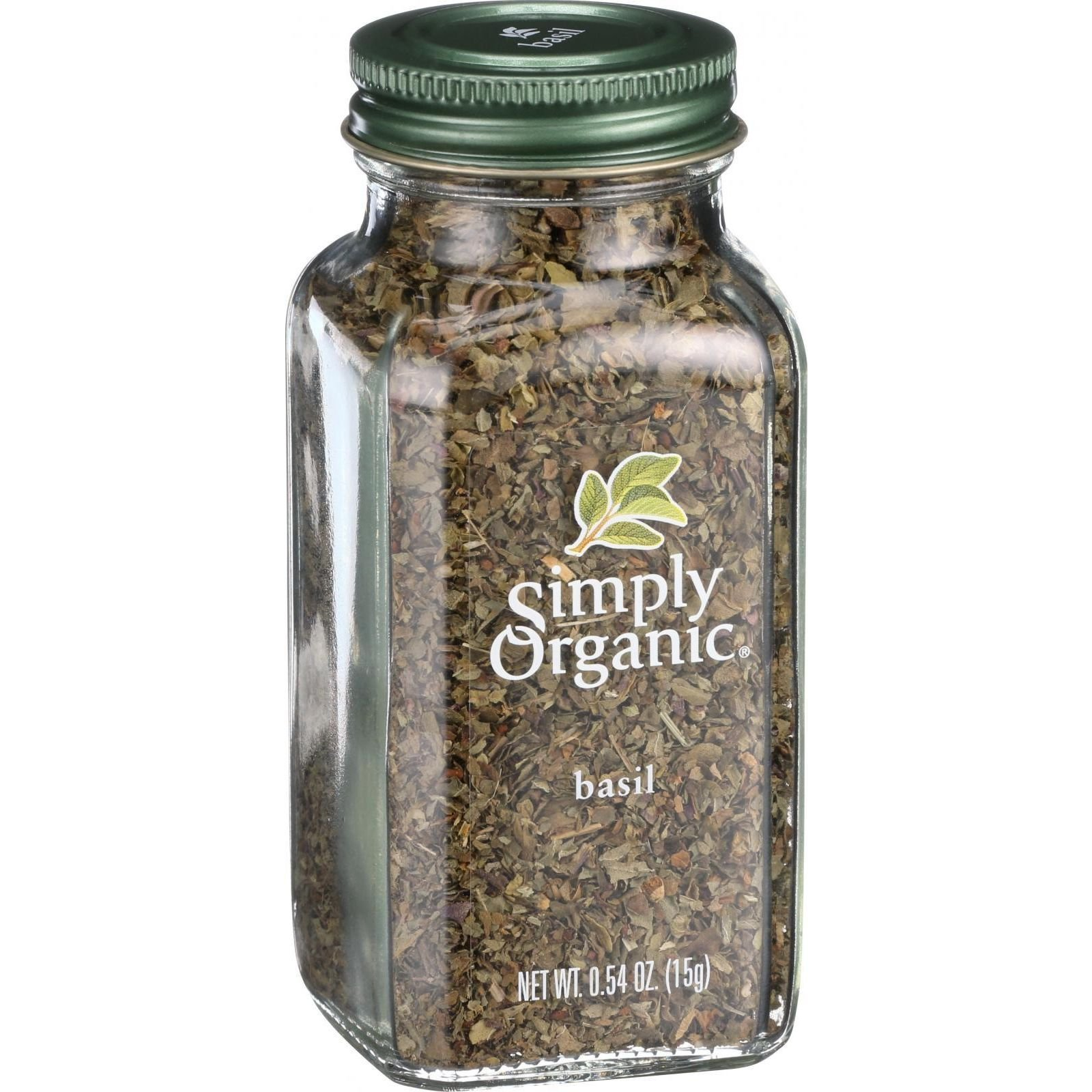 Simply Organic Sweet Basil Leaf, 0.54 Ounce - 6 per case by Simply Organic