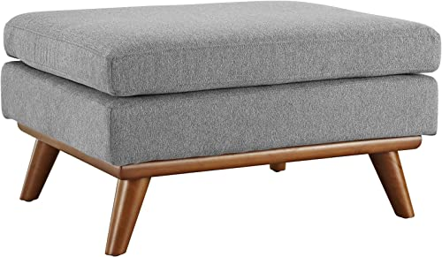 Reviewed: Modway Engage Mid-Century Modern Upholstered Fabric Ottoman
