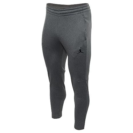 Men's Clothing Nike Jordan Therma 23 Alpha Pants Sz Medium Carbon Heather/black 861557-091 Activewear