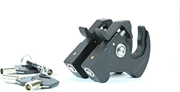 Sissy Bar Luggage Rack Docking Latch Clip Kit For Harley Detachable Rotary Parts