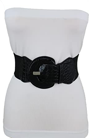 New Women Black Faux Leather Band Long Fringes Fabric Fashion Tie Belt Native Style Hip High Waist Size M L XL