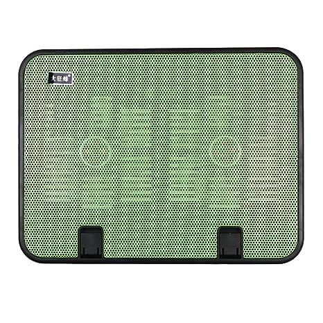 Ordenador portátil de refrigeración pad, portátil ultra-slim Silencioso soporte de refrigeración para ordenador