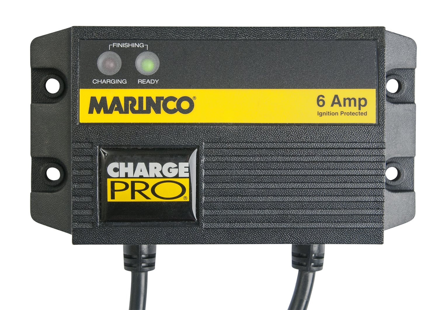 Marinco ChargePro 6-Amp 1 Bank 12V Waterproof Battery Charger by Marinco