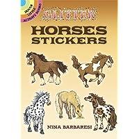 Glitter Horses Stickers