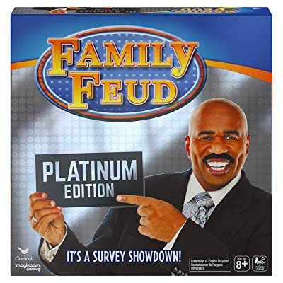 Steve Harvey Family Feud, Platinum Edition Family Party Game, Kids & Adults: Toys & Games