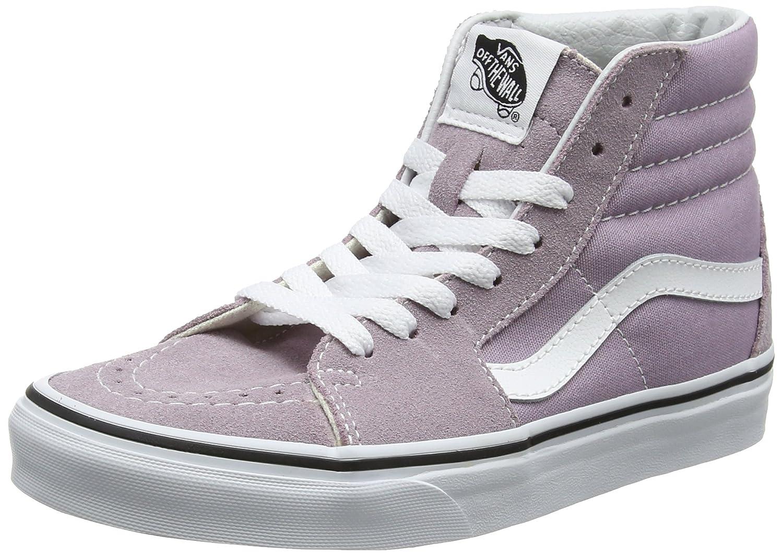 Vans Sk8-Hi, Zapatillas para Mujer 40.5 EU Rosa (Sea Fog/True White)