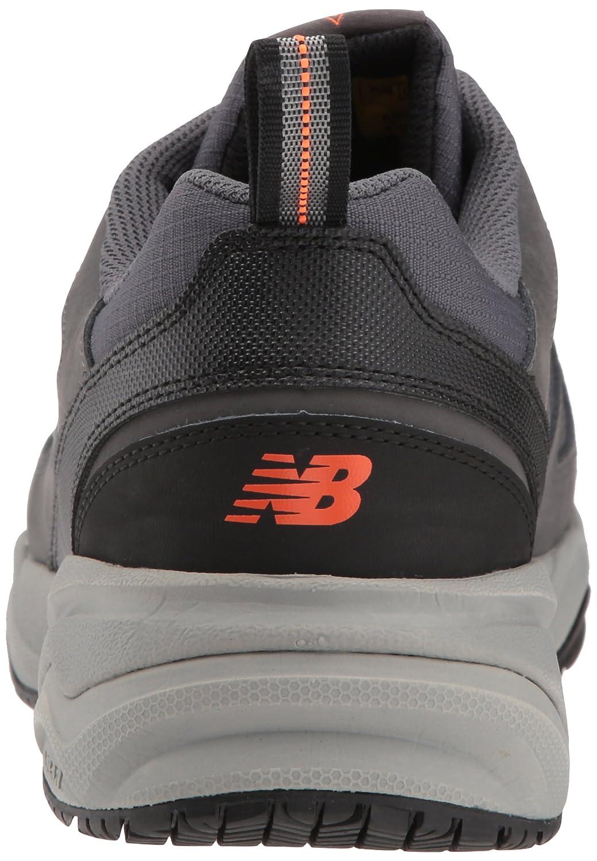 the best attitude 73921 af85d Zapato de entrenamiento de trabajo 627v2 New Balance para hombre Gris    Naranja