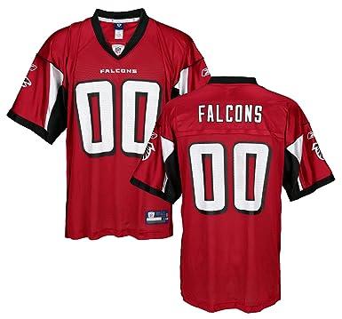 60dd21f6da1 Amazon.com: Atlanta Falcons NFL Mens Team Replica Jersey, Red: Clothing