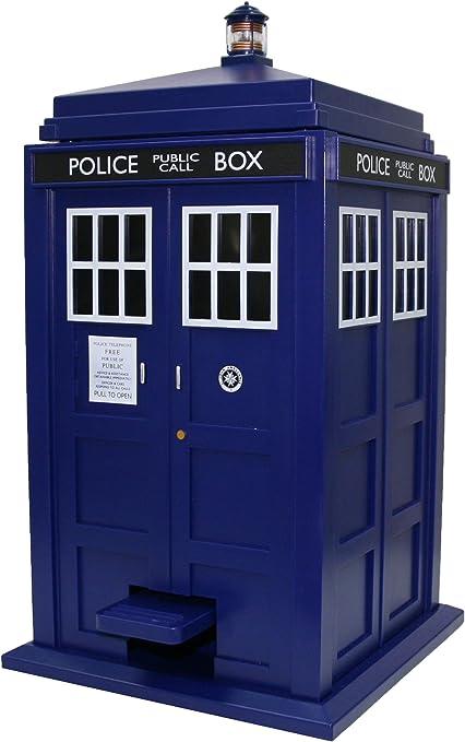 Amazon.com: Doctor Who Tardis Trash Can – con luces y ...