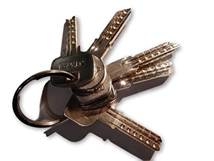 Juego de llaves maestras multipunto válidas para cerraduras de España II