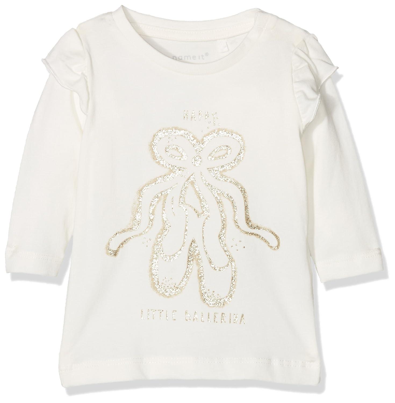 NAME IT Baby-M/ädchen Nbffanoma Ls Top Langarmshirt
