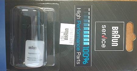 Braun 67002000 - Aceite para afeitadora: Amazon.es: Salud y ...