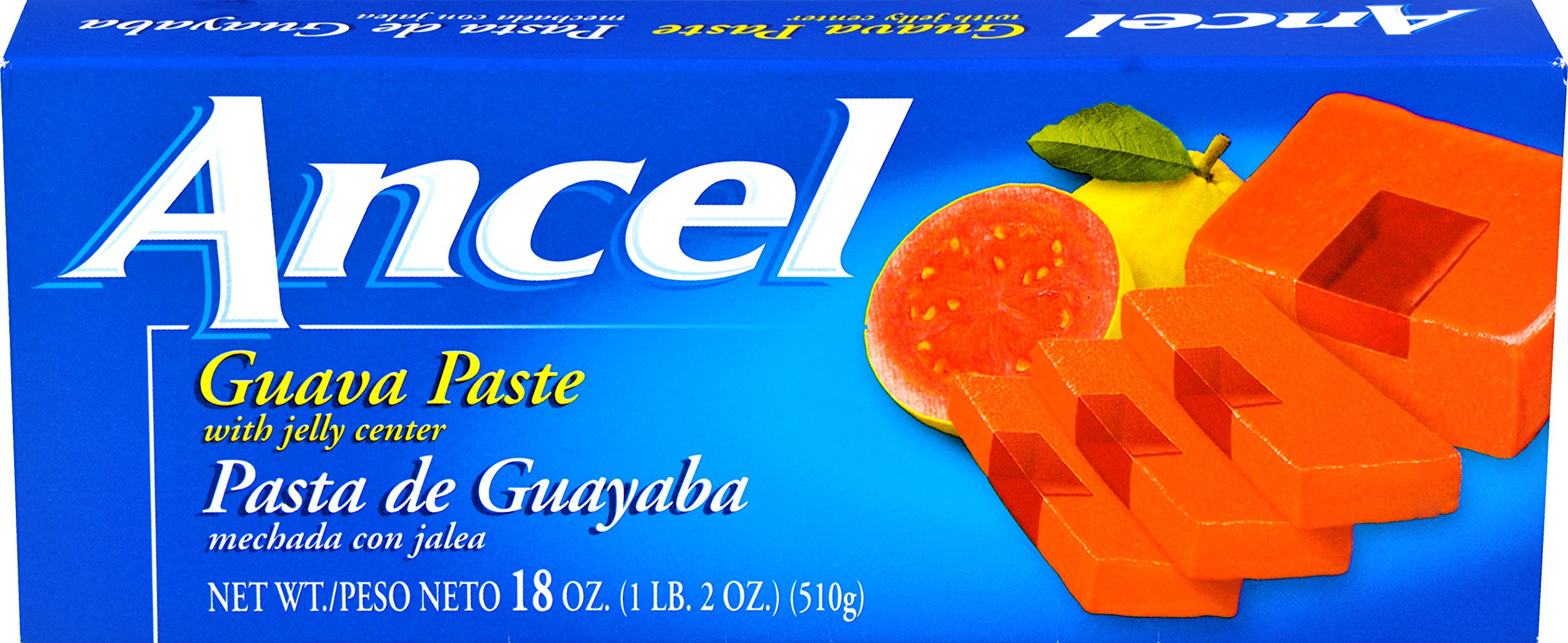 Goya Foods Ancel Guava Paste with Jelly Center, 18-Ounce (Pack of 12)
