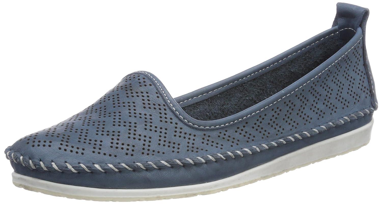 Andrea Conti Damen 0025717 Slipper (Jeans) Blau (Jeans) Slipper 63b73f