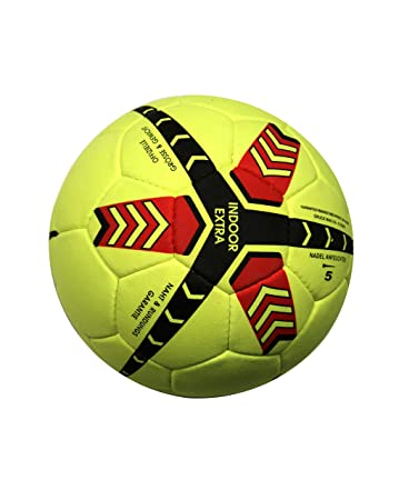 Indoor-Fussball / Lisaro Indoorball Aus Echt Valurleder: Amazon.de ...