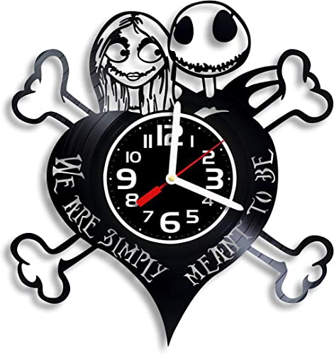Art Vintage The Nightmare Before Christmas Vinyl Wall Clock