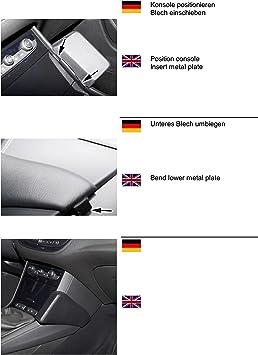 Kuda 3130 Halterung Echtleder Schwarz Für Opel Elektronik