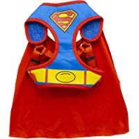 DC Comics for Pets Superman Harness for Dogs, Small (S)   Superhero Dog Harness   Harness for Small Size Dog Breeds, See…