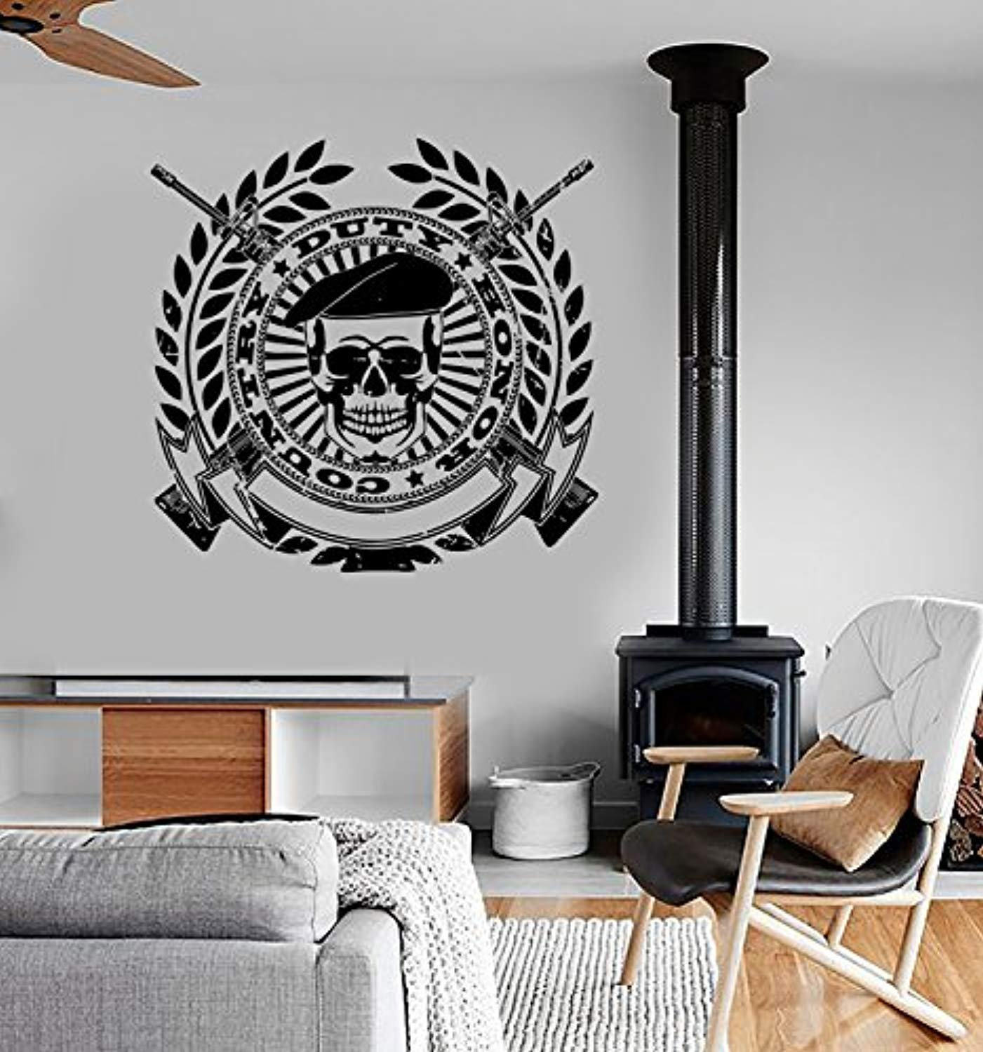 ANewDecals Wall Vinyl Army Soldier Honor Duty Guaranteed Quality Decal Mural Art G2396