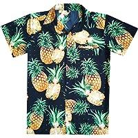 Virgin Crafts Hawaiian T-shirt per Uomo Funky Beach