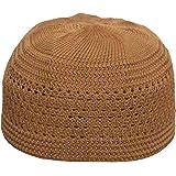Khurshid Plain Open-Weave Prayer Namaz Cap Stretchy Kufi Hat Skull Cap -  Fits 20 b10cfb3d47b6
