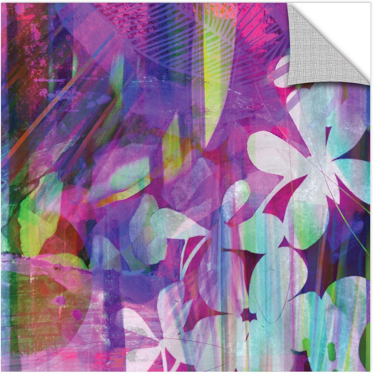 Delores Orridge Naskrent Jungle Fever-pinks Gallery Wrapped Canvas 18X18