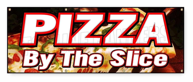 Amazon.com: Pizza de 3 pies x 8 pies por la pizarra de la ...