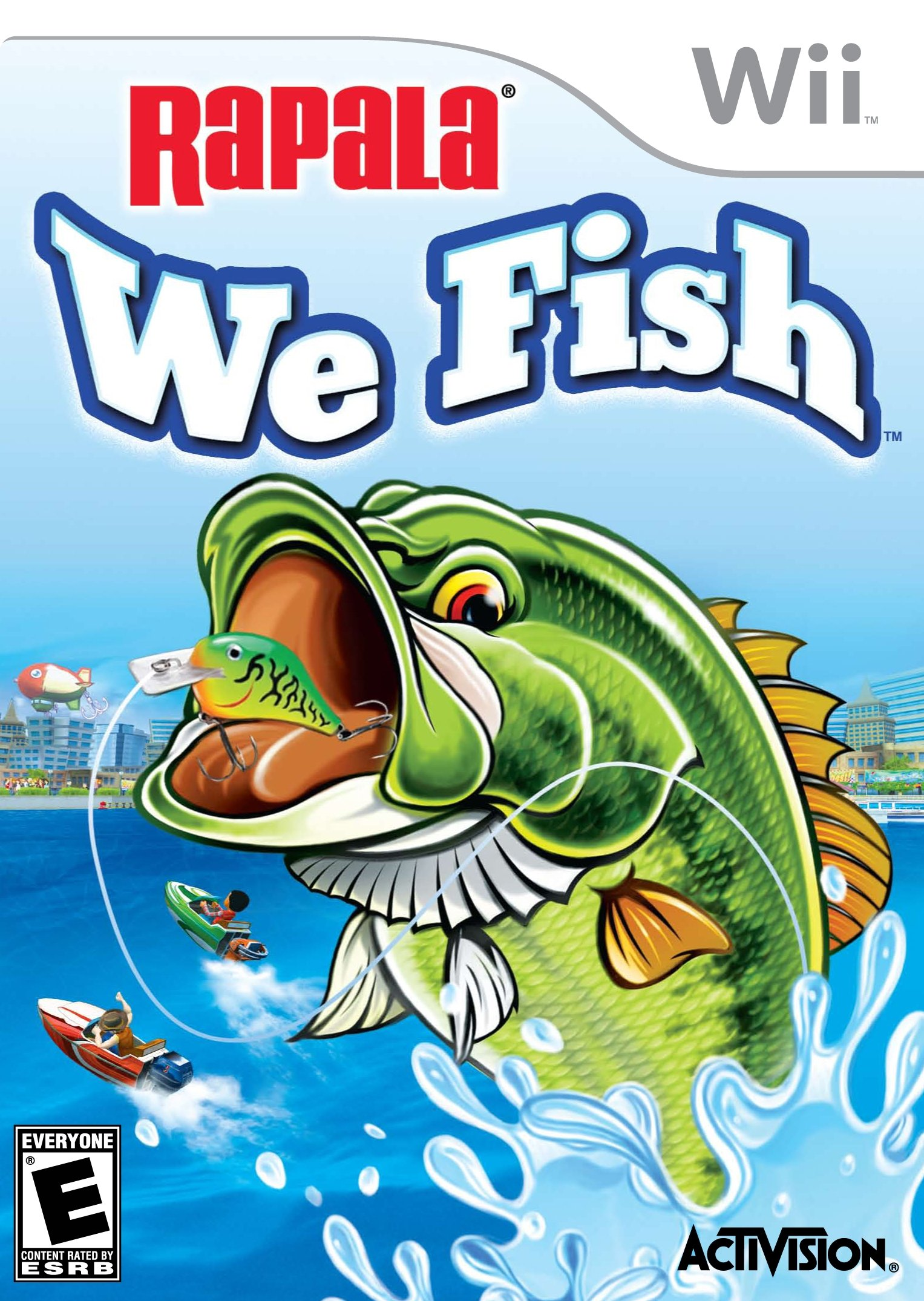 Rapala: We Fish - Nintendo Wii by Activision