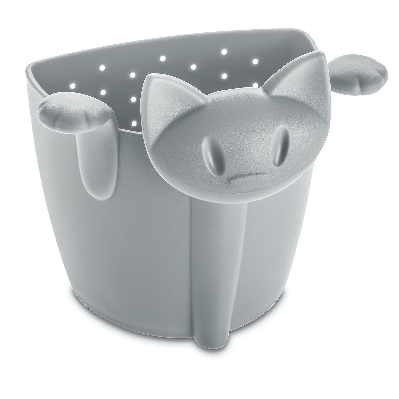 Koziol tea strainer Miaou, thermoplastic, black, 6 x 6.6 x 7.6 cm 3236526
