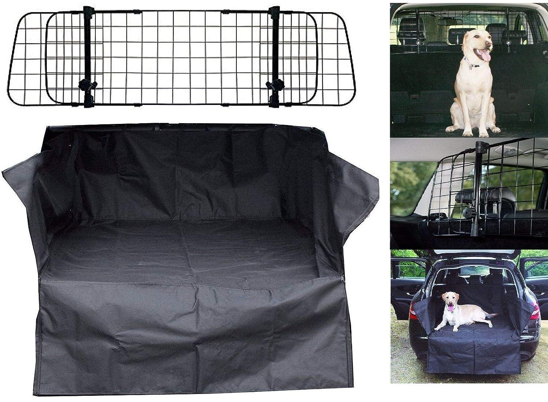 UKB4C Car Boot Liner Mat Bumper Protector Mesh Grill Dog Barrier Guard Water Resistant HD