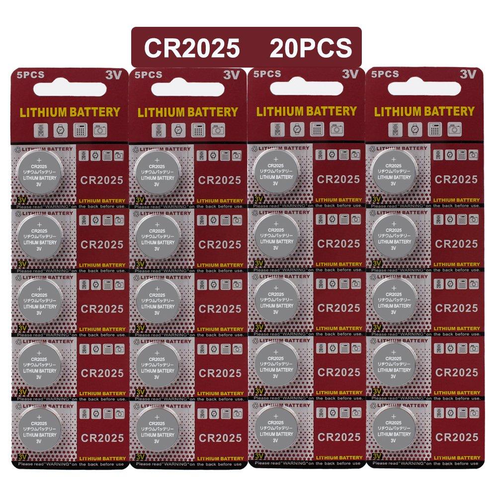 人気の春夏 JOOBEF JOOBEF CR2025リチウム3V電池 B07213XRGK、電子コイン電池ボタン(20個) B07213XRGK, 赤い屋根ワークス:4445ec38 --- a0267596.xsph.ru