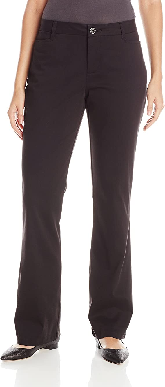 Riders by Lee Indigo Womens Stretch Twill Flat Front Pant
