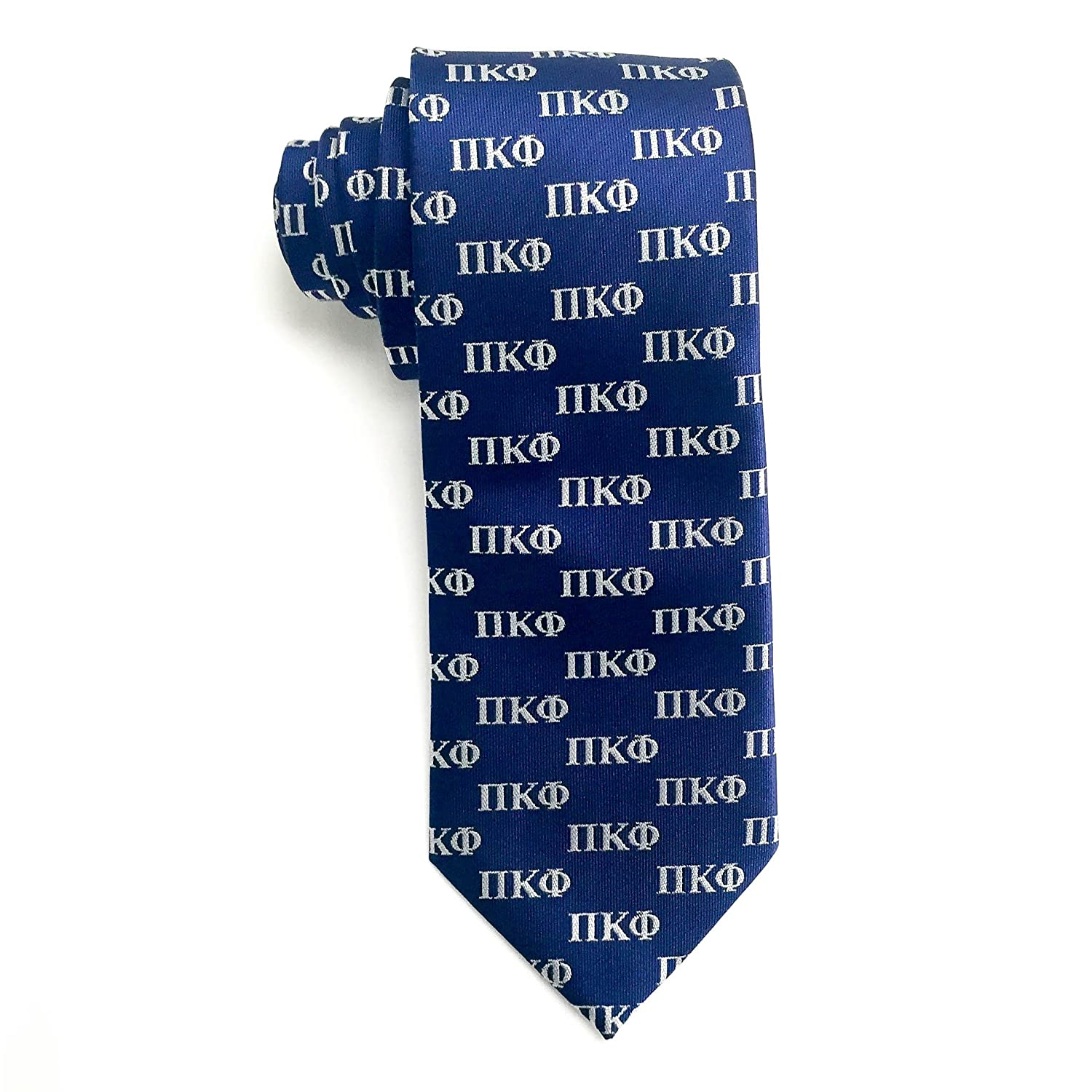 Pi Kappa Phi Letter Design Tie At Amazon Mens Clothing Store