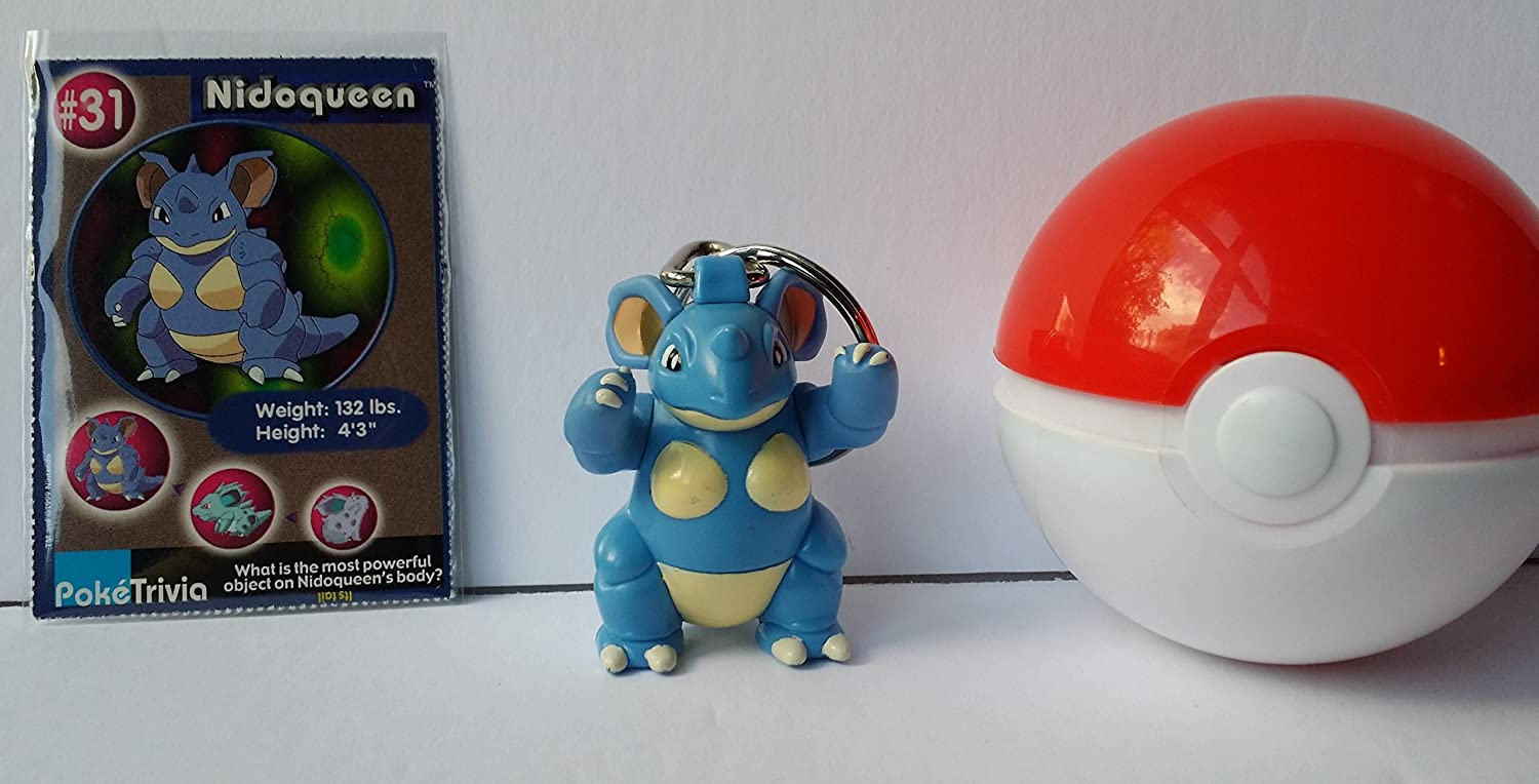 Amazon.com: Pokemon Nidoqueen Burger King Juguete con ...