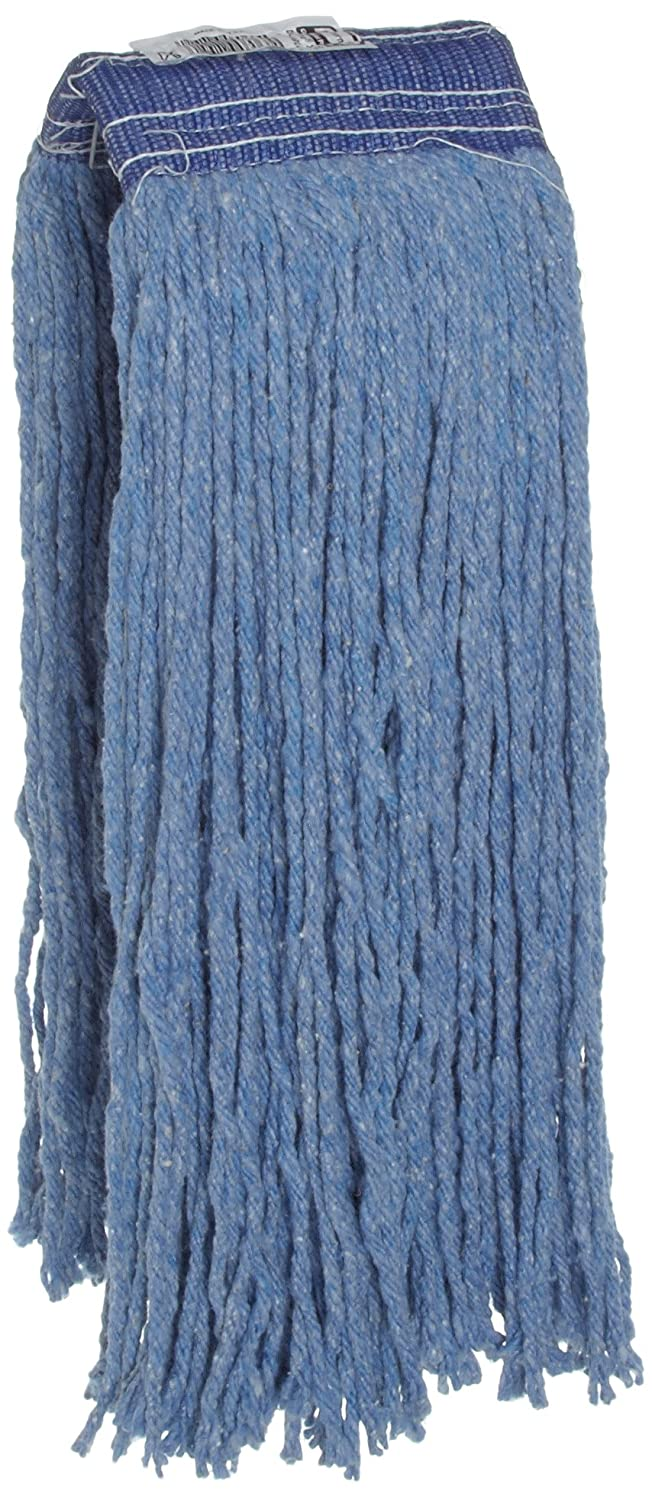 Rubbermaid Commercial Premium Cut-End Blend Mop, 32-Ounce Size, 5-Inch Blue Headband, Blue (FGF55900 ) FGF55900BL00