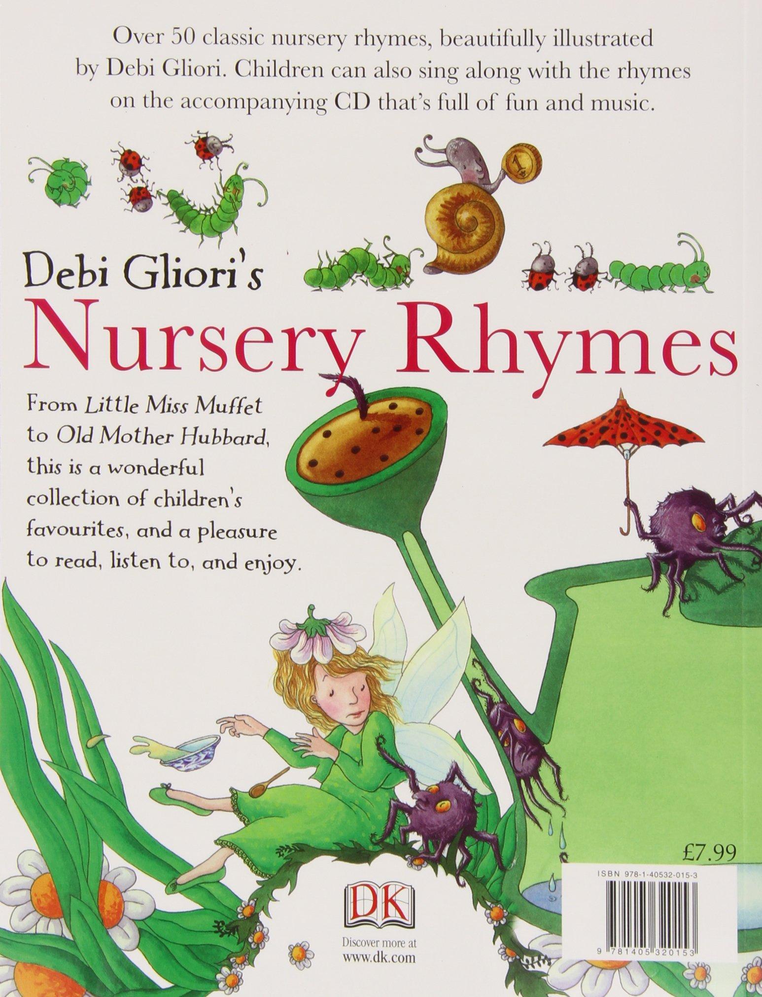 amazon nursery rhymes book cd debi gliori short story