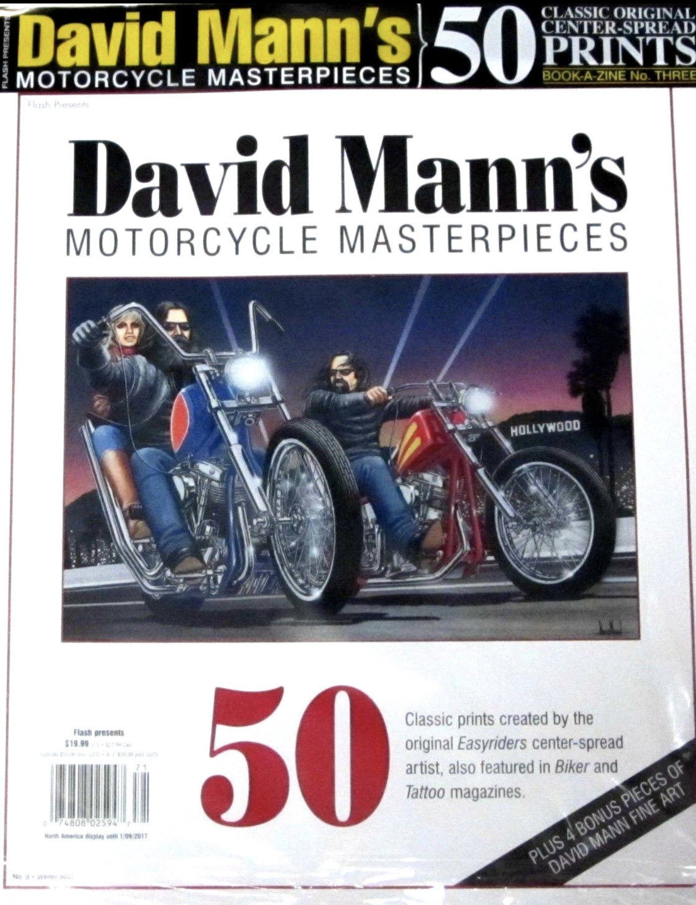 david mann s motorcycle masterpieces no 3 50 classic prints david