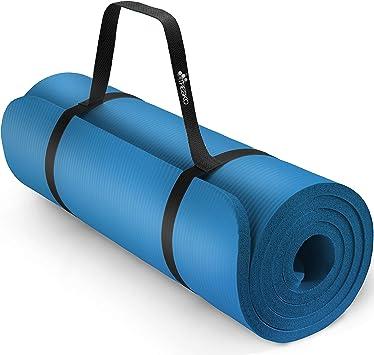 Tresko Tapis D Exercice Fitness Tapis De Yoga Tapis De Pilates Tapis De Gymnastique Dimensions 185