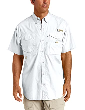 Amazon.com: Columbia Men's Bonehead Short-Sleeve Work Shirt ...